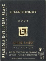White Beaujolais-Villages  Chardonnay